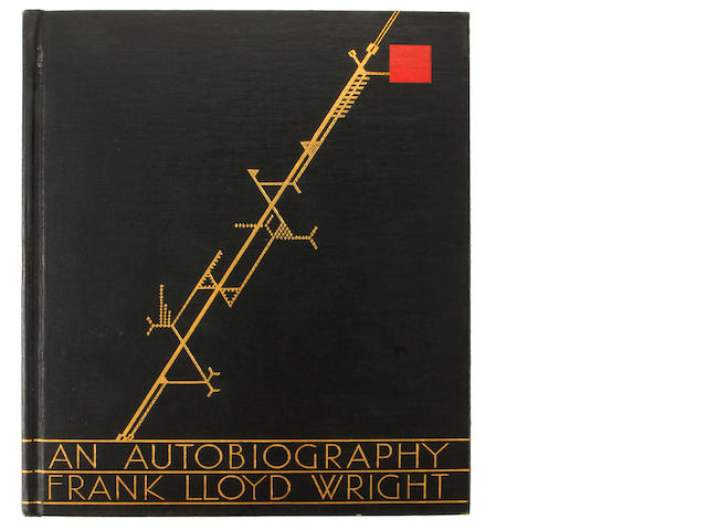 WRIGHT, FRANK LLOYD. 1867-1959. An Autogbiography. London, New York, Toronto: Longmans, Green and Company, 1932.