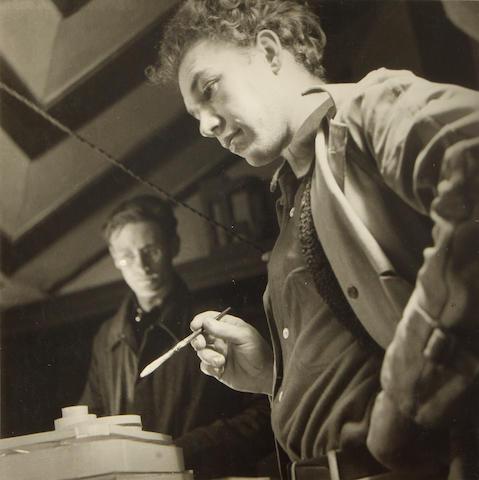 [WRIGHT, FRANK LLOYD.] TESKE, EDMUND. 1911-1996.