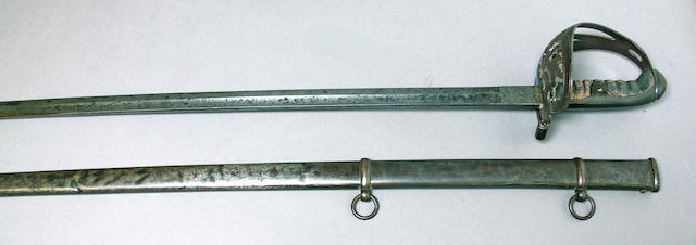 A Civil War era non-regulation foot officer's sword by Walscheid of Solingen