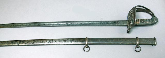 A Civil War era non-regulation foot officer's sword by Walscheid of Solingen
