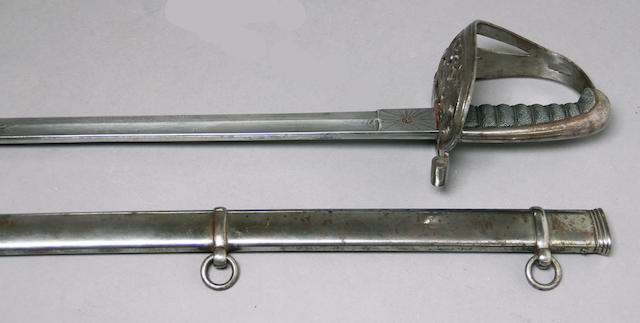 A Civil War era non-regulation foot officer's sword by F. Horster