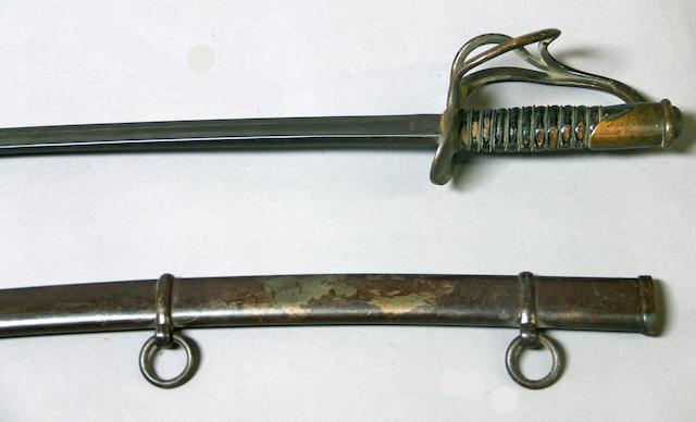 A Model 1860 cavalry saber