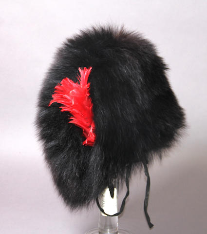 A Coldstream Guards bearskin