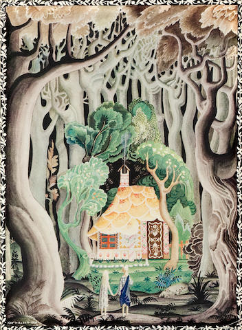 NIELSEN, KAY, illustrator. Hansel and Gretel and Other Stoiries by the Brothers Grimm. London:  Hodder and Stoughton, [1925].