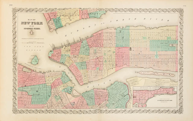 COLTON, J.H. Colton's Atlas of the World. New York: J.H. Colton, 1856.