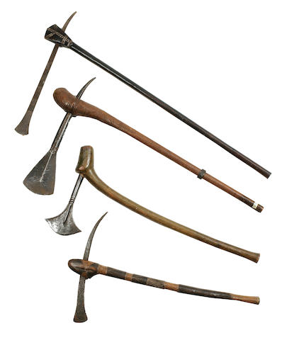 Four Metal Axes, South Africa