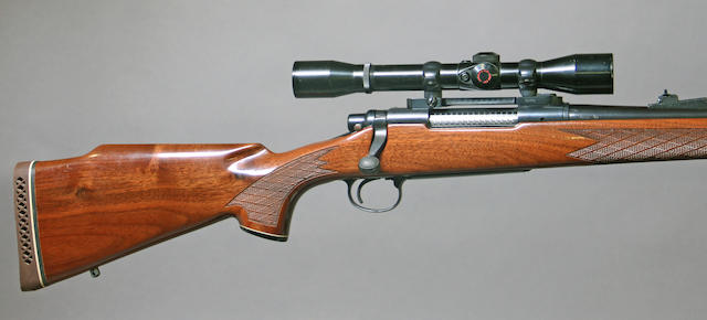 A .270 Winchester Remington Model 700BDL bolt action sporting rifle