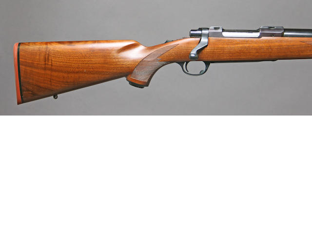 A .284 Winchester Sturm Ruger Model 77 bolt action rifle