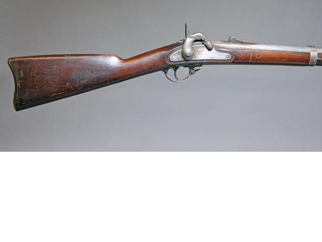 A U.S. Model 1861 contract rifle-musket by Savage Fire Arms Company