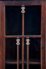A Greene & Greene mahogany breakfront cabinet from the Cordelia A. Culbertson house, 1911-1913