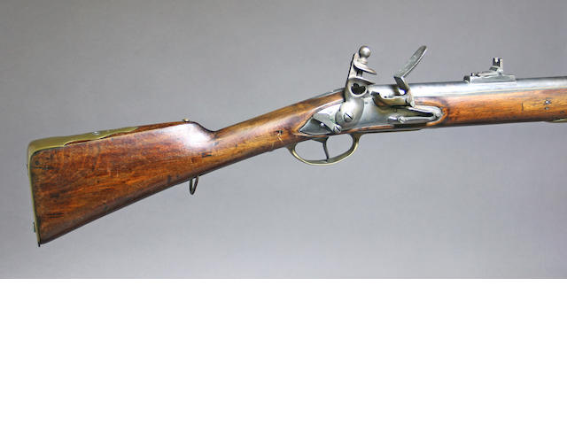A Danish/Norwegian Model 1774/1841 percussion conversion rifle