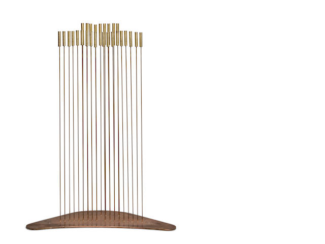 Val Bertoia (American, born 1949) Bisonic Sound Sculpture B-1595, 2009