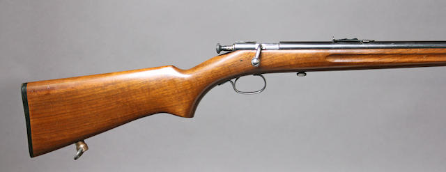 A Winchester Model 60A bolt action rifle