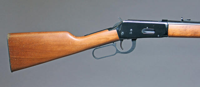 A Winchester Model 94 lever action rifle