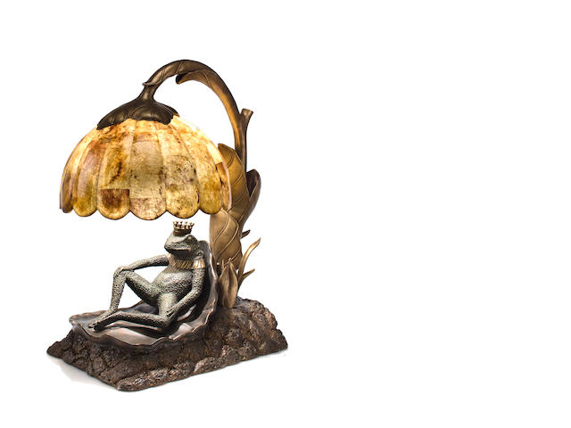 Frog Lamp