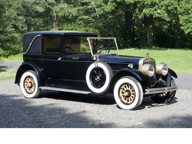 1922 Cunningham Series V-4 Model 82-A Town Limousine  Chassis no. V4627 Engine no. V4633