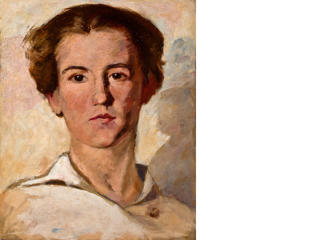Attributed to Knute Heldner (Swedish, 1877-1952) Study of a Young Man