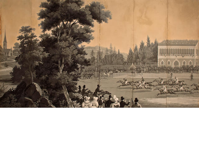Attributed to Zuber (manufacturer) Goodwood races