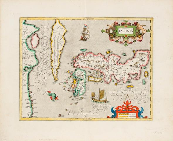 JAPAN. MERCATOR, GERARD. 1512-94. Iaponia. [Amsterdam: c. 1630.]