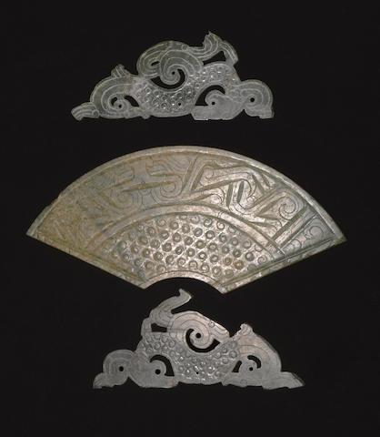 A jade huang Late Eastern Zhou/Han dynasty