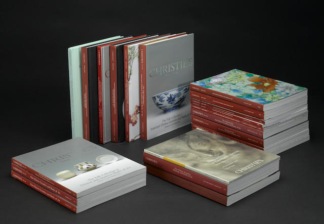 A selection of Christie's catalogues, 1999-2007