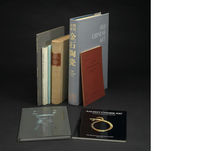 A selection of books on Chinese bronzes