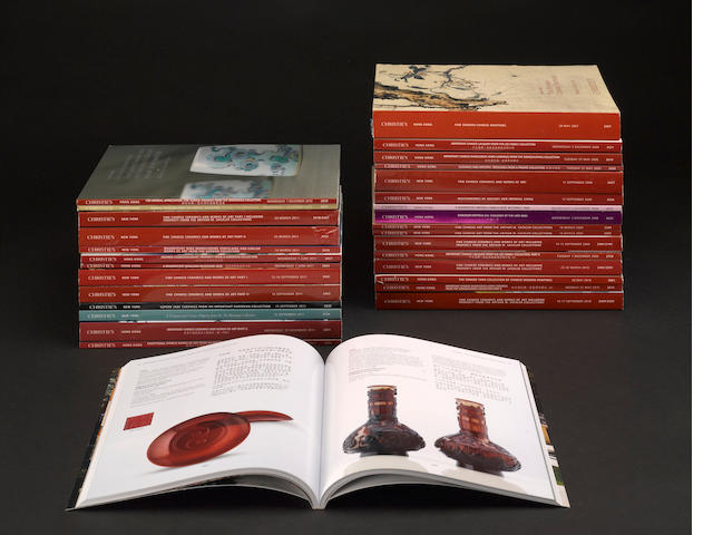 A selection of Christie's catalogues, 2007-2011
