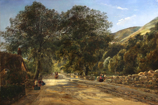 William H. Player (British) Bonchurch, Isle of Wight 15 3/4 x 23 1/2in