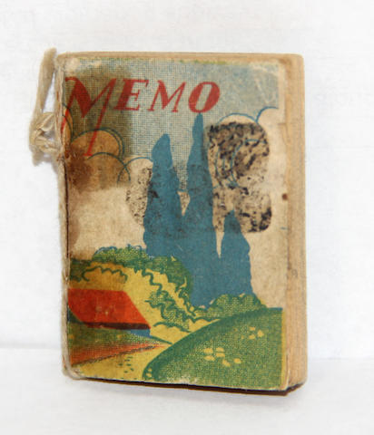 James Castle miniature book