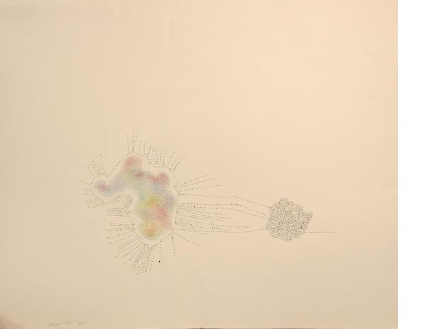 Bernard Cohen (British, born 1933) Untitled, 1965 20 3/4 x 25in unframed