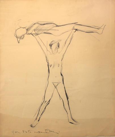 Manuel Neri (American, born 1930) Majic Act VI, 1963 30 3/4 x 25 3/4in