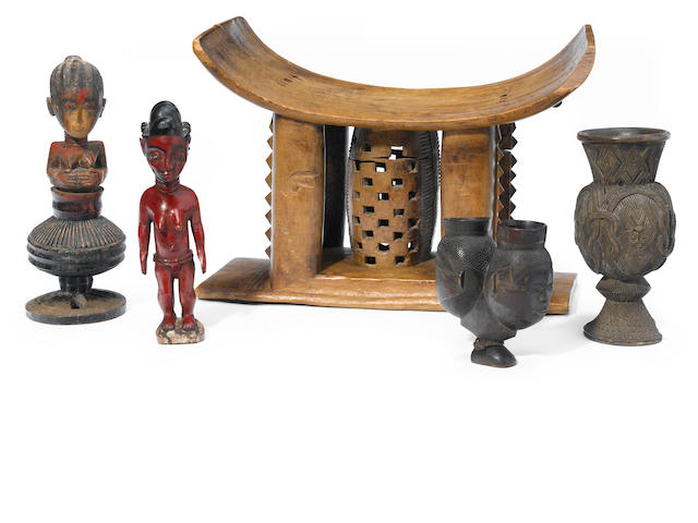 A group of African articles