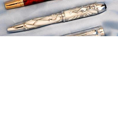 MONTBLANC: Andrew Carnegie Patron of Art Series Limited Edition 888 Fountain Pen