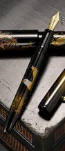 NAMIKI: Bald Eagle Yukari Series Maki-e Limited Edition 700 Fountain Pen