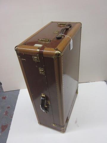 A Hartmann 'Tourobe' wardrobe trunk, c. 1950,