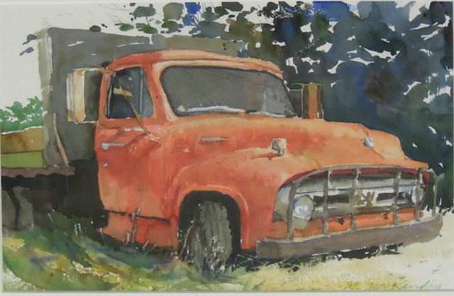 "The Red Ford truck, ""..Ran When Parked"","