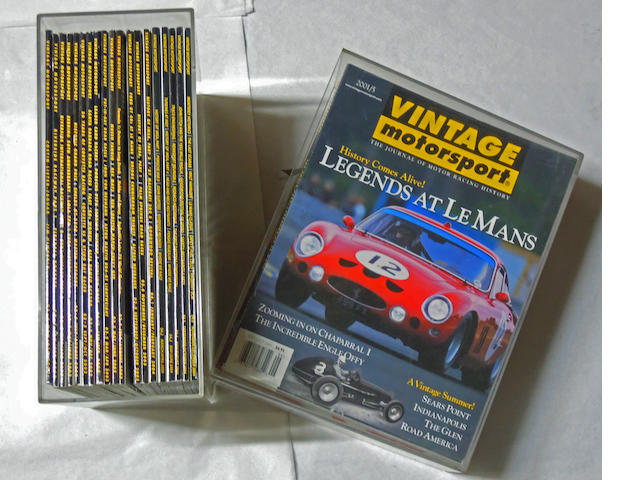 A Complete set of Vintage Motorsport magazines,