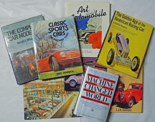 A quantity of Auto books,