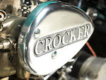 1940 Crocker 'Big Tank' V-Twin Engine no. 40.61.109