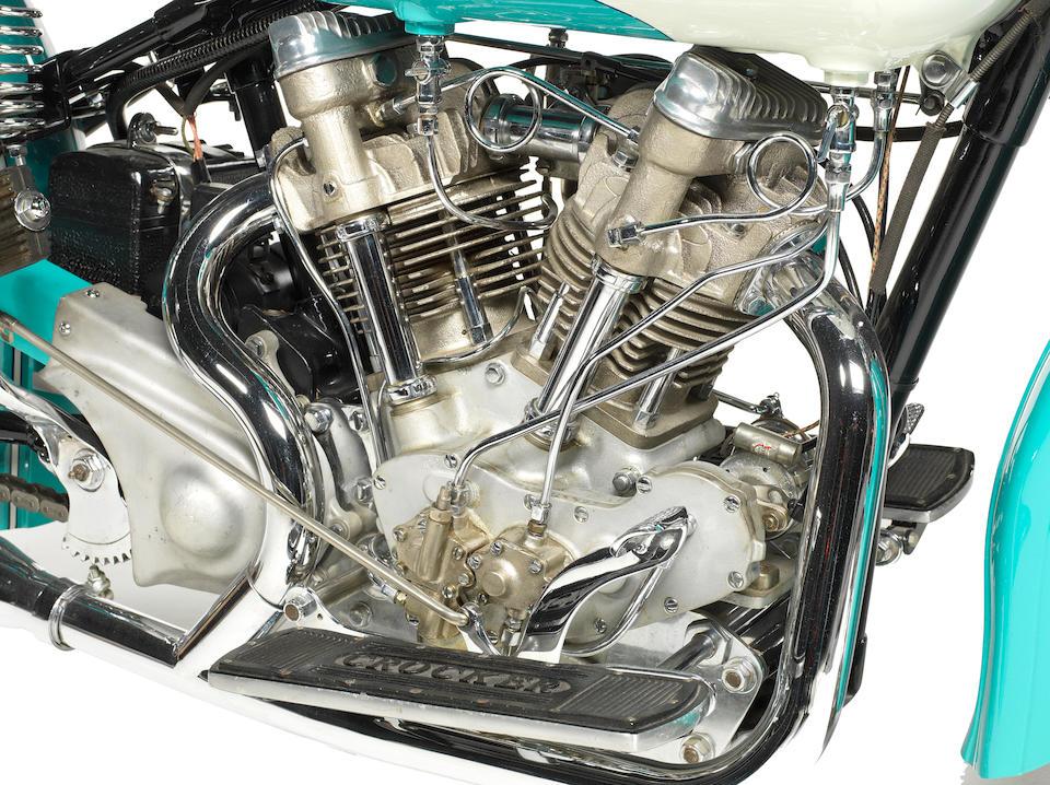 1940 Crocker 'Big Tank' V-Twin Engine no. 40.61.109