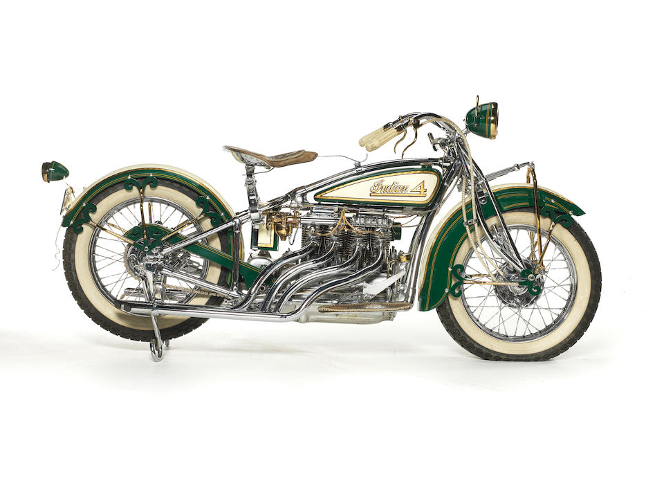 """Customized by William """"Wild Bill"""" Eggers,1930 Indian Model 402 'Renegade' Engine no. EA10431"""