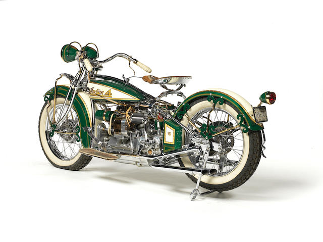 "Customized by William ""Wild Bill"" Eggers,1930 Indian Model 402 'Renegade' Engine no. EA10431"