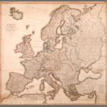 Wall Map - Europe. Faden, William Europe, describing all the changes of territory...agreed and confirmed by the definative Treaty of Paris. London: 20th November 1815