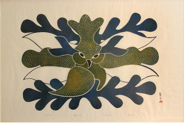 Kenojuak Ashevak, blue owl