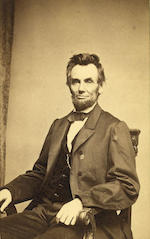 LINCOLN EXERTS EXECUTIVE CONTROL OVER AMNESTY AND, BY EXTENSION, RECONSTRUCTION.  LINCOLN, ABRAHAM. 1809-1865.<BR />