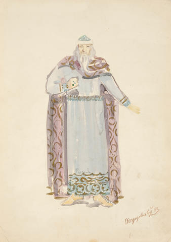 FEDOROVSKY, FEDOR FEDOROVICH. 1883-1955. A pair of costume designs,