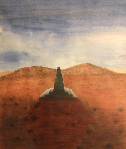 Paul Wonner, Monument
