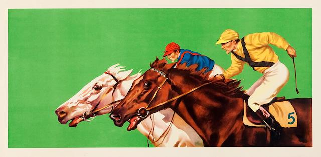 #2419 Horse Panel