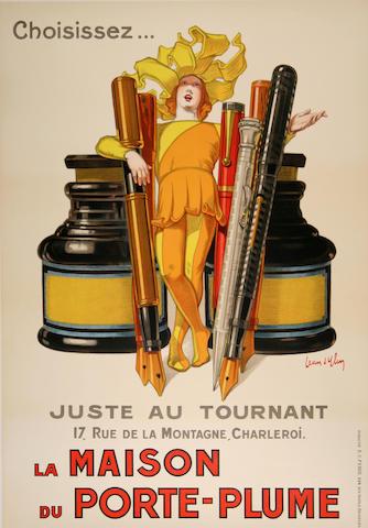 Jean d' Ylen (French, 1866-1938); La Maison du Porte-Plume;