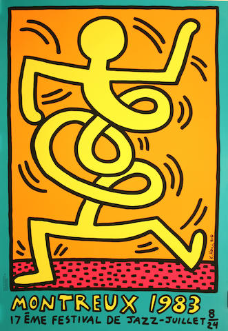 Keith Haring (1958-1990); Montreux 1983;